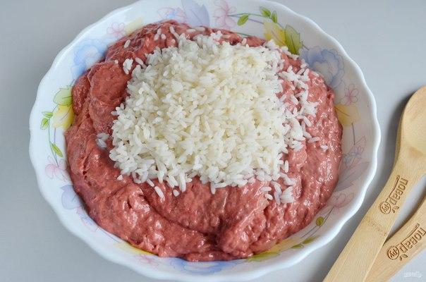 Печеночные колбаски с рисом